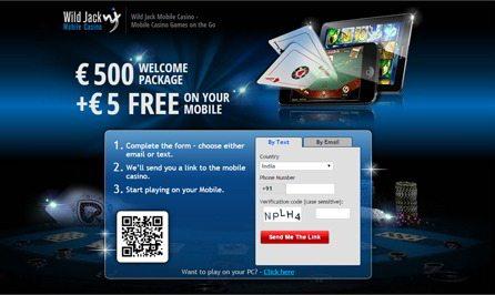 Mobile Casino Games at Wild Jack