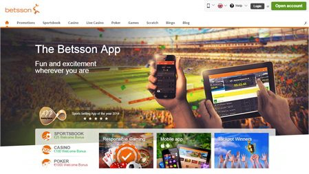 Betsson Phone Casino world