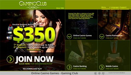 gaming club casino withdrawal