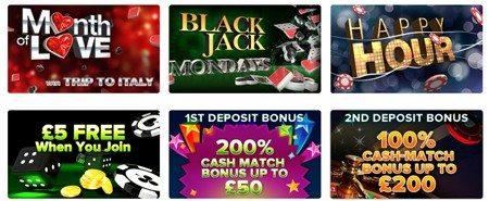 Casino No Deposit Welcome Bonus
