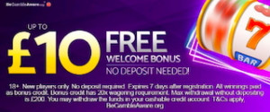 free signup bonus offer - no deposit needed