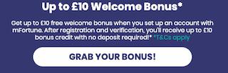 free bonus signup offers online
