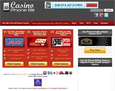 Casino Phone Games