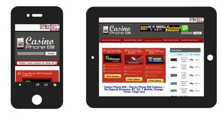 Casino Phone Bill Online Offers