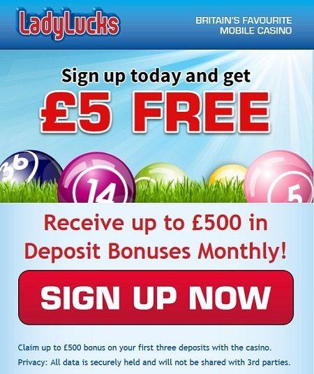 Monthly Bonus Offers