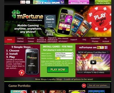 mfortune Best Mobile Casino