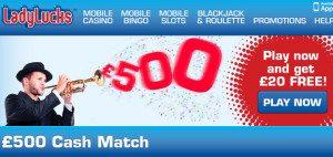 Cash Match Bonus