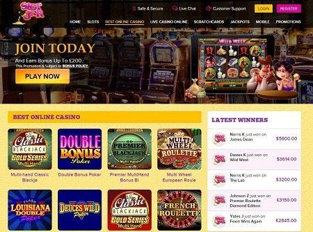Slotjar Online Casino