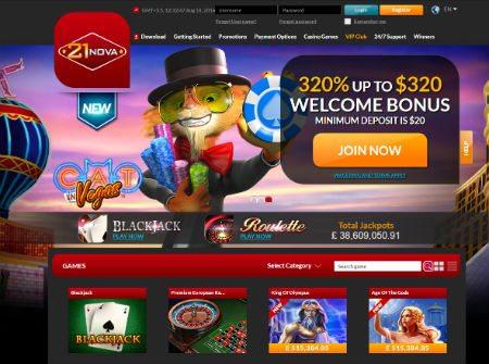 21Nova Online Casino