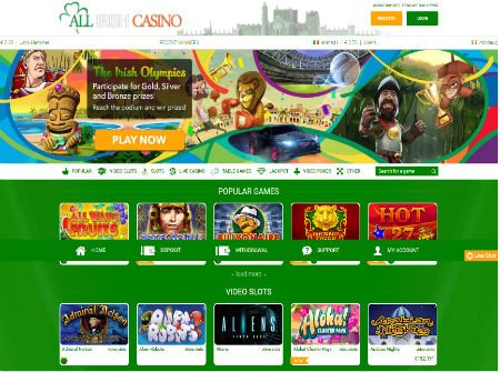 All Irish Casino Irelands