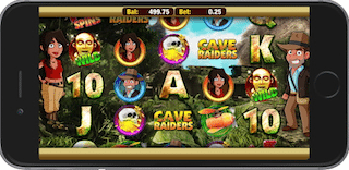 Cave raiders HD Slots Games