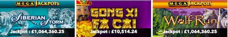 instant win jackpot slots